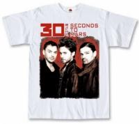 Футболка 30 Seconds To Mars Trio белая