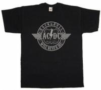Футболка AC/DC Old Logo Black
