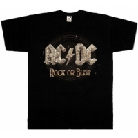 Футболка AC/DC - Rock Or Bust
