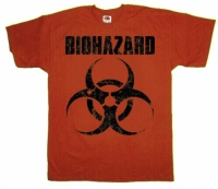 Футболка Biohazard Orange
