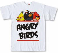 Футболка Angry Birds white
