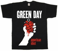 Футболка Green Day - American Idiot