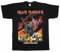Футболка Iron Maiden - Maiden England