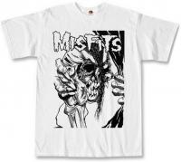 Футболка Misfits - Evil Eye White