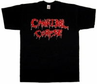 Футболка Cannibal Corpse Logo черная