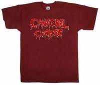 Футболка Cannibal Corpse Logo кирпично-красная