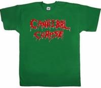 Футболка Cannibal Corpse Logo зеленая