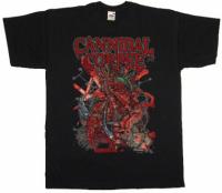 Футболка Cannibal Corpse - Sickening Metamorphosis