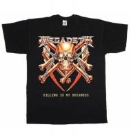 Футболка Megadeth - Killing Is My Business