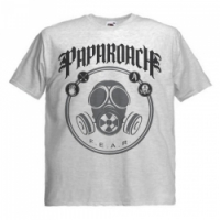 Футболка Papa Roach - Fear пепельная