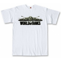 Футболка World Of Tanks White