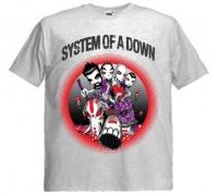 Футболка System Of A Down пепельная