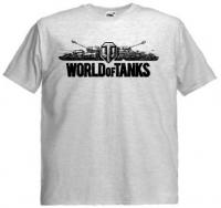 Футболка World Of Tanks пепельная