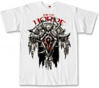 Футболка World Of Warcraft - For The Horde белая
