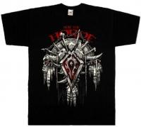 Футболка World Of Warcraft - For The Horde черная