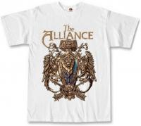 Футболка World Of Warcraft - The Alliance белая