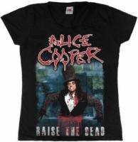 Футболка женская Alice Cooper - Raise The Dead
