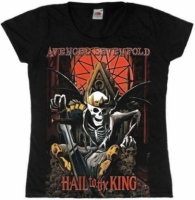 Футболка женская Avenged Sevenfold - Hail To The King