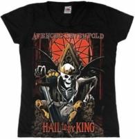 Футболка женская Avenged Sevenfold - Hail To The King