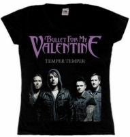 Футболка женская Bullet For My Valentine - Temper Temper