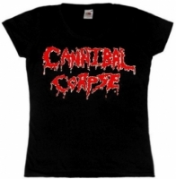 Футболка женская Cannibal Corpse Logo