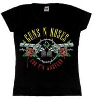 Футболка женская Guns N Roses