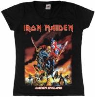 Футболка женская Iron Maiden - Maiden England