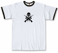 Футболка Iron Maiden - Logo Ringer White