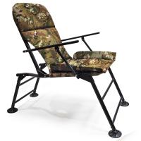 """Кресло раскладное с подлокотниками """"Карп"""" расцветка  Камуфляж"""
