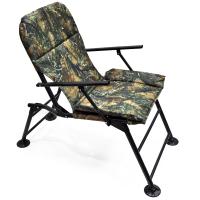 """Кресло раскладное с подлокотниками """"Карп"""" расцветка  Лес"""