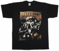 Футболка Metallica - Band