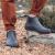 Мужские ботинки Nordman Beat с оранжевой подошвой