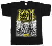 Футболка Napalm Death - Scum