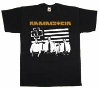 Футболка Rammstein Group Black