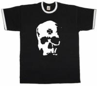 Футболка Rammstein - Skull Рингер Black