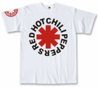 Футболка Red Hot Chili Peppers White