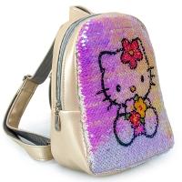 Рюкзак с пайетками Китти №1