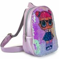 Рюкзак с пайетками куклы ЛОЛ №3