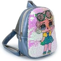 Рюкзак с пайетками куклы ЛОЛ №4