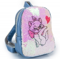 Рюкзак с пайетками Китти №3