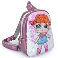 Рюкзак с пайетками куклы ЛОЛ №6