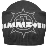 Шапка - бини RAMMSTEIN 1 серая