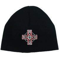 Шапка Крест кельтский с узором