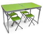 Стол со стульями для пикника (усиленная конструкция)