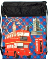 Сумка для сменной обуви London Bus